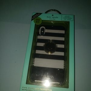 Kate spade iphone case with ring stand